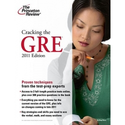 Cracking the GRE + DVD (2011 ed.)